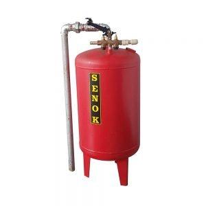 Bình chứa dầu cầu nâng 1 trụ