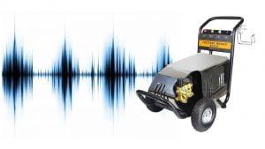 Cẩn thận với tiếng ồn lạ phát ra từ máy rửa xe