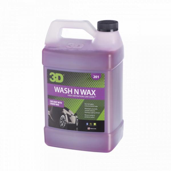 Nước rửa xe tăng cường độ bóng wash n wax 1 gallon