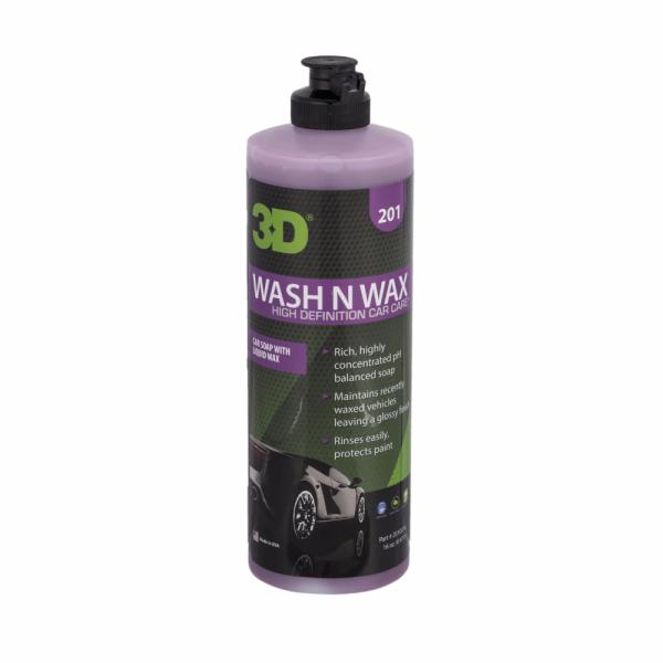 nước rửa xe tăng cường độ bóng wash n wax 16oz