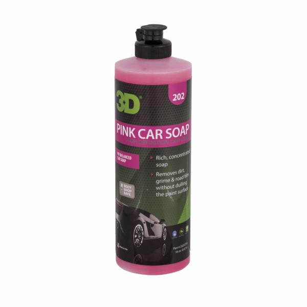 xà phòng rửa xe pink car soap 16oz
