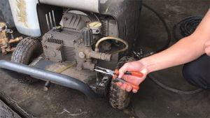 Hướng dẫn vệ sinh lọc nước máy rửa xe