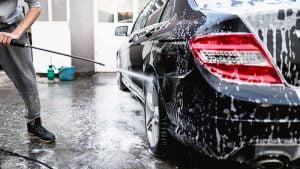 Máy rửa xe bị mất áp lực