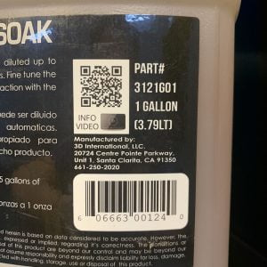 Nước rửa xe không chạm 3D Super Pre-Soak 1 Gallon