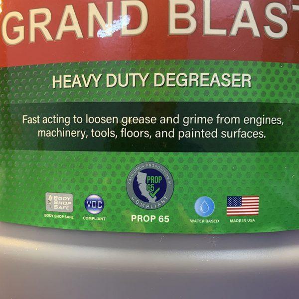 Sản phẩm tẩy rửa máy động cơ grand blast 1 gallon