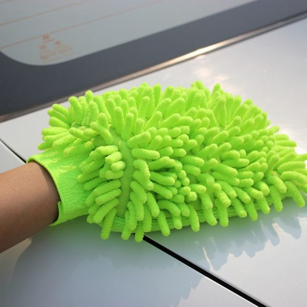 găng tay rửa xe san hô