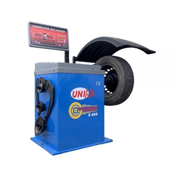 Máy cân bằng lốp xe con UNIKA U-550