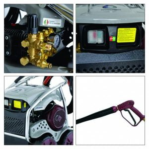 Máy rửa xe cao áp Idrobase Transformer ZX2663-TS