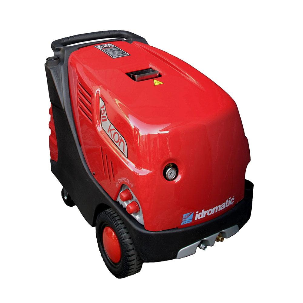 Máy rửa xe nước nóng lạnh Idromatic KON 150