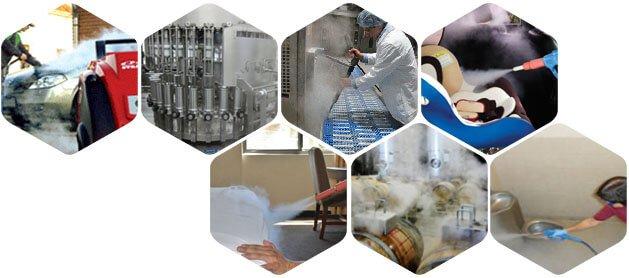 Các ứng dụng của máy rửa xe hơi nước nóng trong vệ sinh thực phẩm