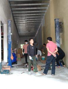 Lắp đặt trọn bộ thiết bị rửa xe cho anh Dũng tại Vĩnh Phúc