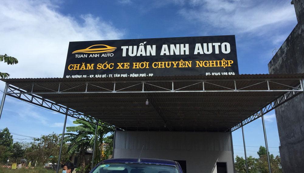 Trung tâm chăm sóc xe hơi chuyên nghiệp tại Đồng Phú, Bình Phước