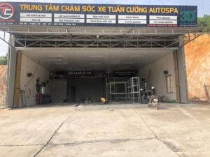 Đào tạo điểm trạm rửa xe tại Như Xuân - Thanh Hoá