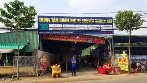 Khai trương trung tâm chăm sóc xe Huỳnh Thị Hai, Quận 12