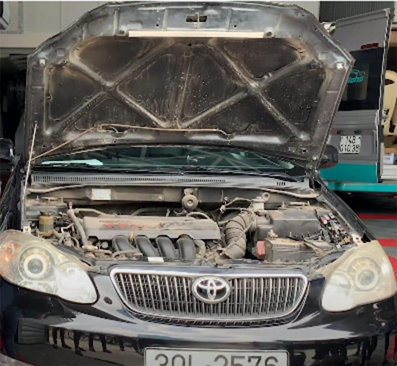 Kinh nghiệm rửa khoang máy - động cơ xe ô tô