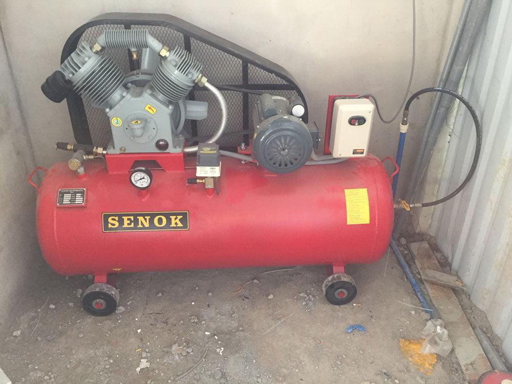Lắp đặt máy nén khí Senok TC300