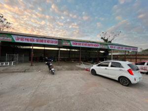 Lắp đặt trung tâm chăm sóc xe tại Xã Yên Than, Tiên Yên, Quảng Ninh