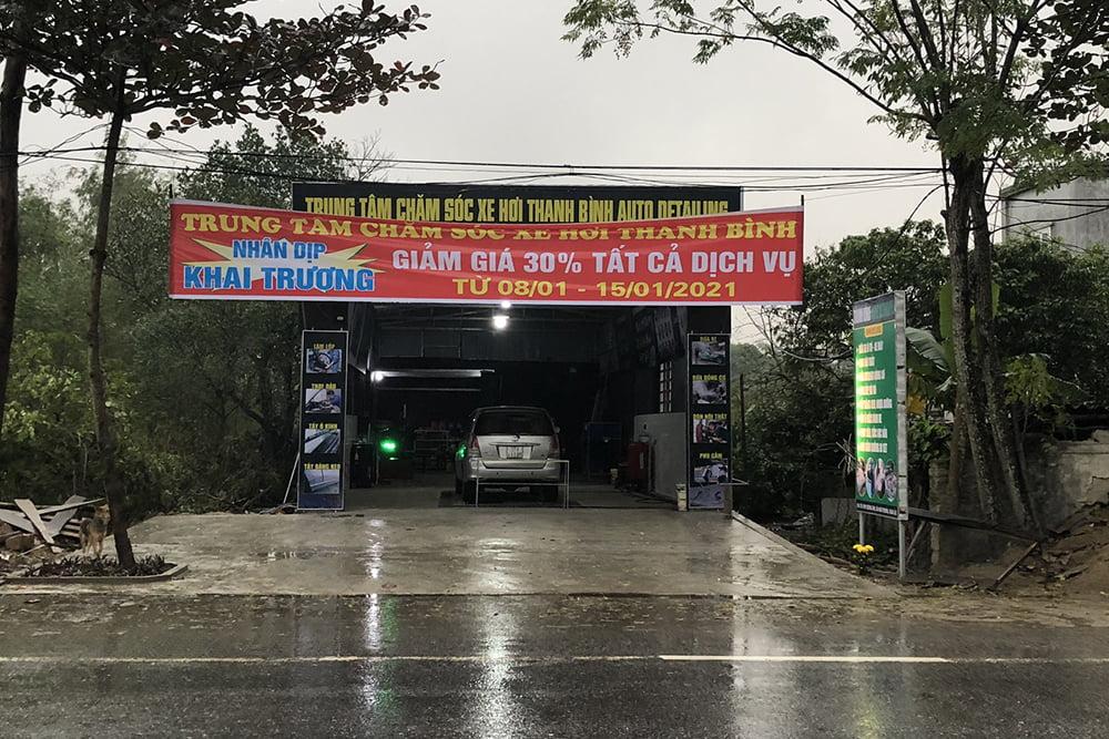 Ngày khai trương Trung tâm chăm sóc xe hơi Thanh Bình Auto Detailing