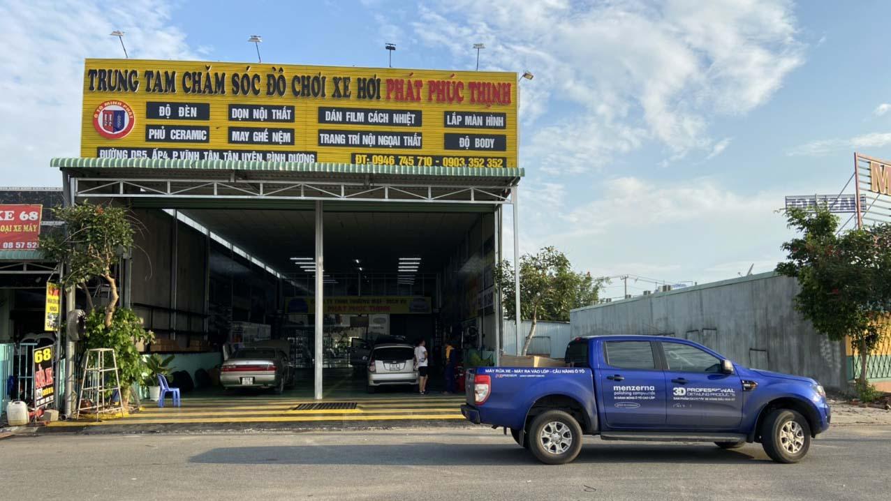 Tiệm rửa xe chuyên nghiệp